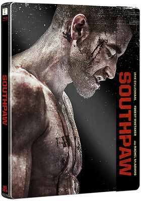 Southpaw (4000 ONLY HMV Exclusive Limited Edition Blu-ray Steelbook) [UK]