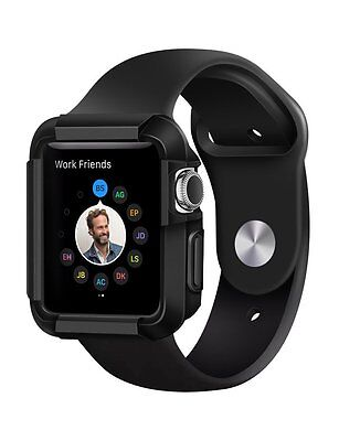 Apple Watch Case Protector Cover Black 38 mm Thin SmartWatch iWatch Protective