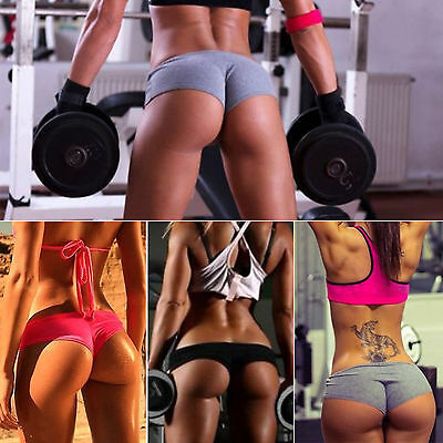 Women Ladies Sexy Sports Trousers Athletic Gym Workout Fitness Yoga Shorts Pants