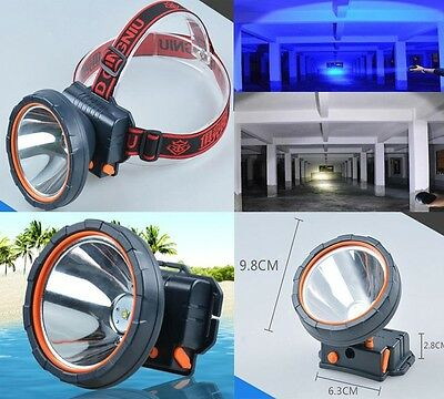 1200Lumens L2 LED 50W Rechargeable Headlamp Headlight Torch 18650 Battery 800M