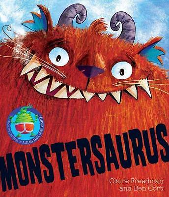 Monstersaurus! by Claire Freedman BRAND NEW BOOK (Paperback, 2012)