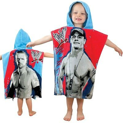 wwe john cena kapuzen poncho handtuch badezimmer strand kinder jungen never give eur 4 99. Black Bedroom Furniture Sets. Home Design Ideas