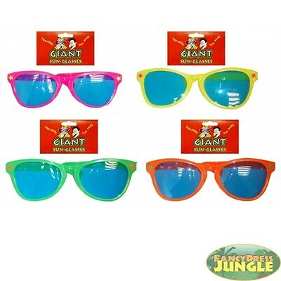 80s GIANT BIG FUNNY SUNGLASSES - fancy dress costume accessory