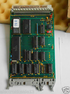 Pcu/7 Card / Module Part No.woha5025334Adt12.163640, / L1636-4