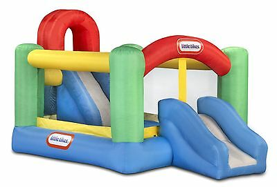 Little Tikes Inflatable Slide Bouncer 2 Slides Climbing Wall Outdoor Activities