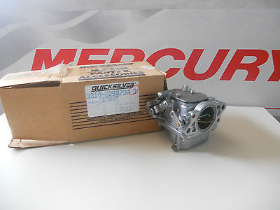 Mercury Mercruiser Quicksilver OEM Part 3319-825073A 3 Carburetor Carburatore