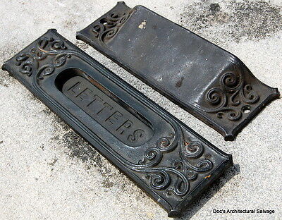 Antique Hardware Yale & Towne Mail Slot Custom-Made for Studebaker Headquarters