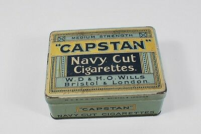 Capstan Navy Cut Vintage cigarette Box Pack