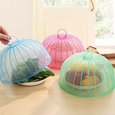 Fashion PP Mesh Food Cover Collapsible Umbrella Style Anti Fly Picnic Food Cover