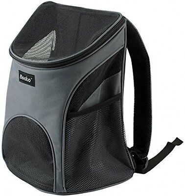 Becko Cat Dog Pet Carrier /Mesh Pup Pack / Soft-sided Outdoor Travel Backpack- S