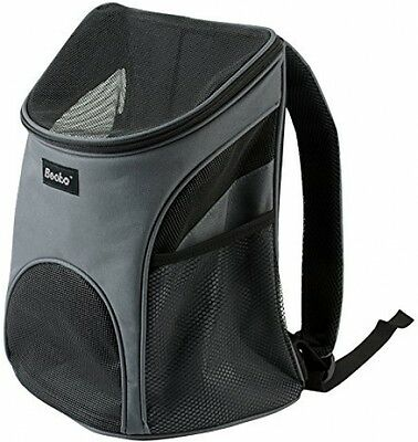 Becko Cat Dog Pet Carrier / Mesh Pup Pack / Soft-sided Outdoor Travel Backpack