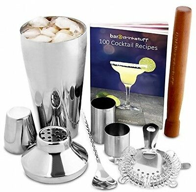Manhattan Cocktail Set | Cocktail Shaker Set And Home Cocktail Making Kit With