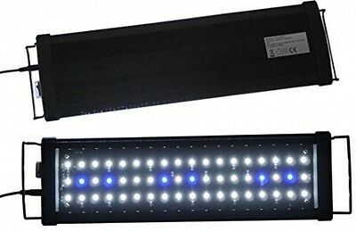 AquarienEco LED Aquarium Light Lighting Led Freshwater (White And Blue LED, 36
