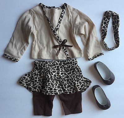 My Twinn Doll Leopard Outfit with Shoes and Headband