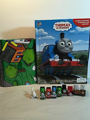 Thomas The Tank Engine And Friends My Busy Book Trains And Playmat Gift
