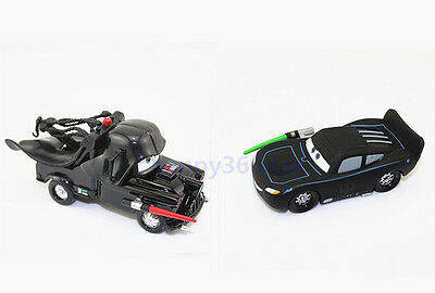 Disney Pixar Star Wars Mater as Darth Vader&McQUEEN w laser as Jedi Luke Skywalk