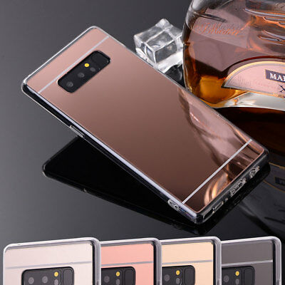 Luxury Ultra-thin Silicone TPU Mirror Case Cover For Samsung Galaxy Note 3 4 5