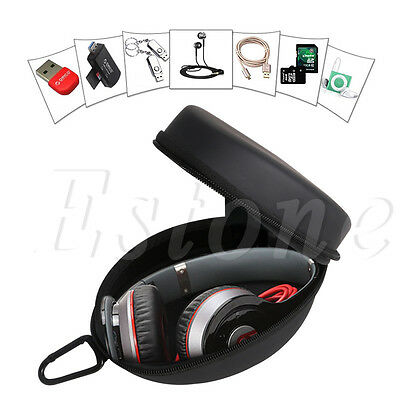 Protection Carrying Large Hard Case Storage Box For Headphone Earphone Headset