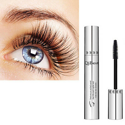 Waterproof 3D Natural Fiber Lash Mascara Beauty Long Curling Eyelash Extension