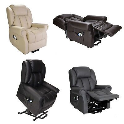 Hainworth Dual Motor riser recliner chair with heat and massage rise recline