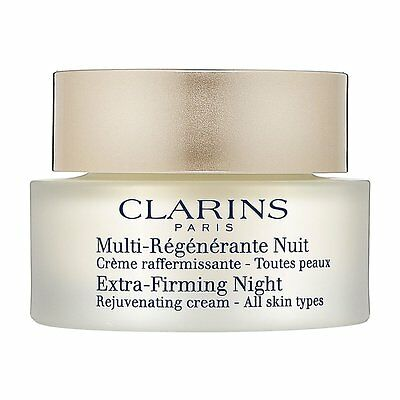 Clarins Extra Firming Night Rejuvenating Cream 50ml - All Skin Types - NEW