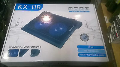 USB Laptop Cooling pad 2 Fans with speaker