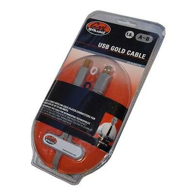 New Geek Squad 1.8 Premium Ieee 1394 Firewire Gold Plated Cable