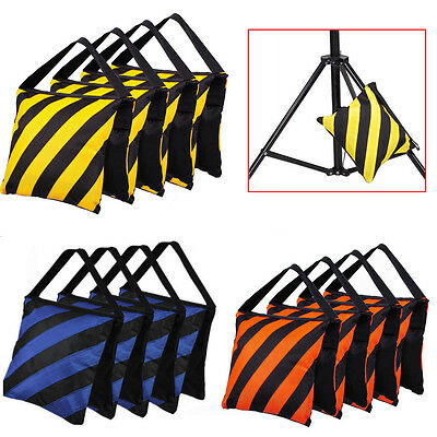 4 x Photography Balance Sandbags Sand Bag for Photo Studio Light Stand Boom Arm
