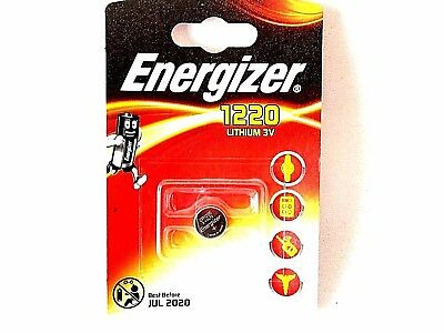 Energizer CR1220 Lithium Button Coin Cell Batteries 3 volt