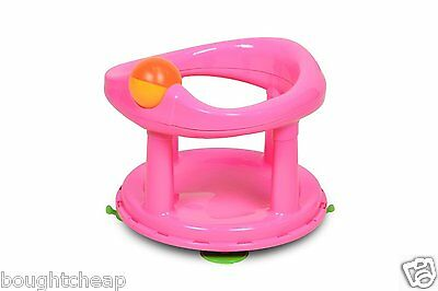 Safety 1st Swivel Bath Seat - PINK *BRAND NEW*
