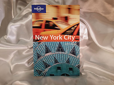 New York City -  City Guide - Lonely Planet - Travel BooK - nyc - backpacker