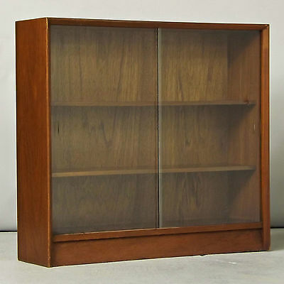 Glazed Bookcase / Cabinet - Retro, Vintage, Gibbs (delivery available)