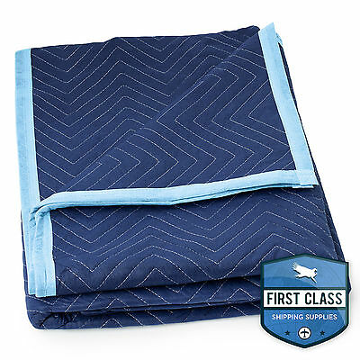 "Deluxe Pro Moving Blanket Padded Furniture Pad 1 Blanket 72"" x 80"""
