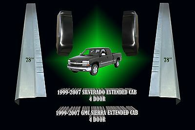 FAST SHIPPING !! GMC Sierra 1999-2006 Extended Cab LH And RH Cab Corners