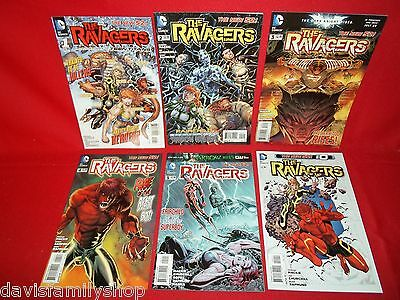 Ravagers 0 #1-5 Complete Comic Book Set Run DC New 52 Comics Fine/Very Fine