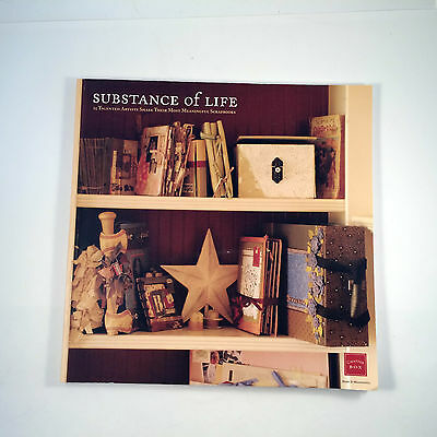 Substance of Life Scrapbooking Idea Book Chatterbox Publications Scrapbook 2005