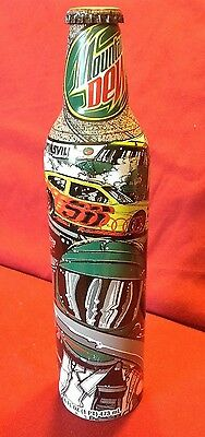 Mountain Dew Collectors Sam Bass Full 16oz Bottle 2008