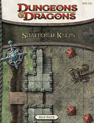 Dungeons and Dragons RPG Map Pack Shattered Keeps - Brand New!