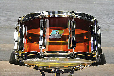 Ludwig LIMITED EDITION Vistalite Tequila Sunrise 6.5x14 Snare Drum - New!