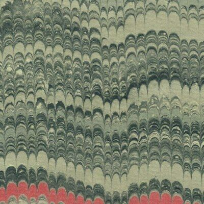 marbled paper for restoration marbling bookbinding Marmorpapier #5104