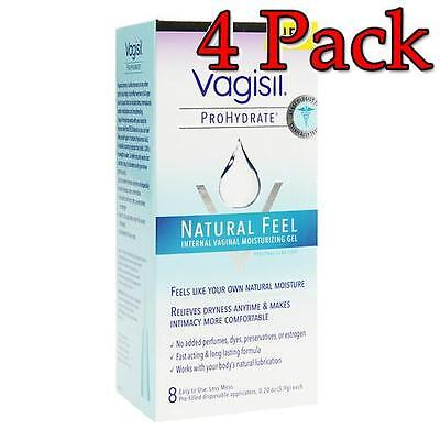 Vagisil ProHydrate NaturalFeel Vaginal Moisturizer, 8ct, 4 Pack 011509060501A959