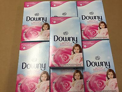 Downy Fabric Softener April Fresh Sheets, 7 - 40 Count Boxes - SAVE!!!