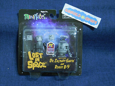 Lost in Space MiniMates Dr. Zachary Smith & Robot B-9 SDCC Previews Exclusive