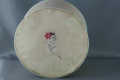Vintage Powder Box Pink Party by Lenthéric Paris Vanity Tin