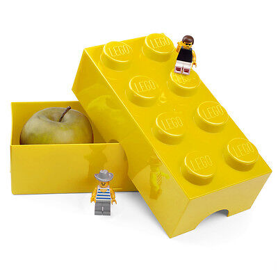 NEW Lego Yellow Lunch Box