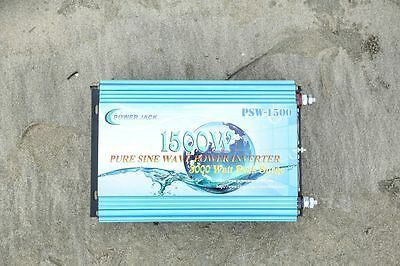 1500w pur sinus onduleur 12V DC à 220V AC,Convertisseur PURE POWER INVERTER -FR