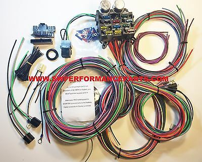 12 circuit ez mini fuse wiring harness chevy ford hotrods new 12 circuit ez wiring harness chevy mopar ford hotrods universal xl wires