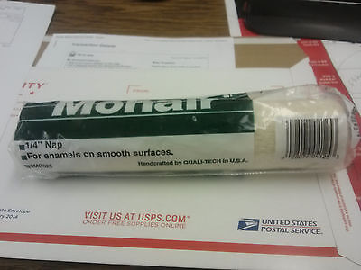 """9"""" Mohair Roller Cover 1/4 Nap Quali-Tech Made In Usa Free Ship In Usa"""