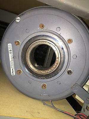 WARNER ELECTRIC 5202-452-015 PC-1000 FIELD BRAKE ROTOR ASSEMBLY D419860 90vdc