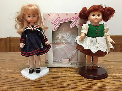 Lot of 2 Ginny Dolls and Boxed Set of Lingerie